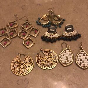 Jewelry - Statement earring bundle